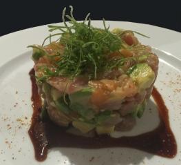 Tatare de thon & saumon