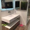lavabo rectangle blanc