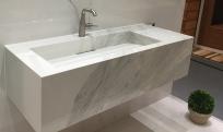 lavabo rectangle style abreuvoir