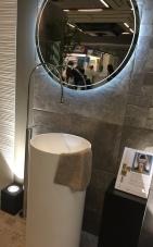 lavabo rond haut