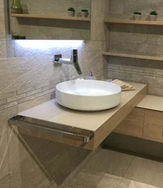 lavabo vasque posée