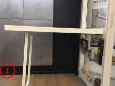 panneau cuisine ouvert