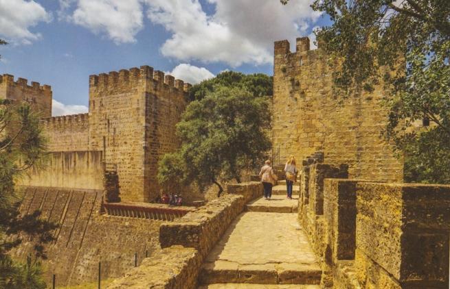 CASTELO S. JORGE vue du Chateau