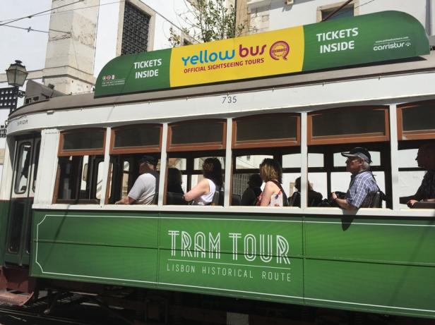 Tram vert tram touristique 1