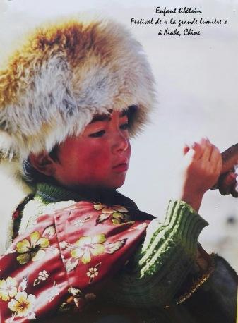 MB CHINE ENFANT TIBETAIN