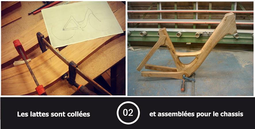 Velo en bois etape 2