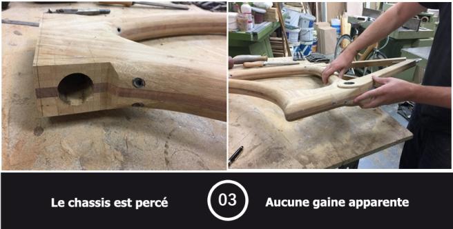Velo en bois etape 3