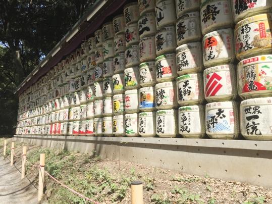 fûts de saké
