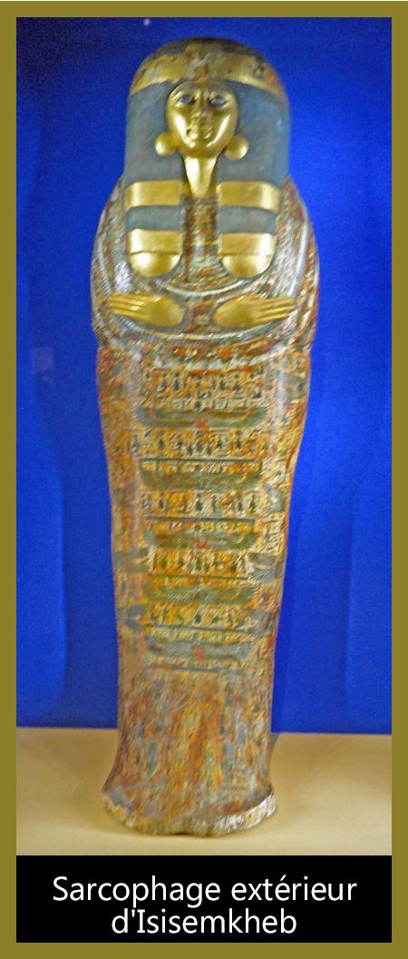 03-Sarcophage extérieur d'Isisemkheb
