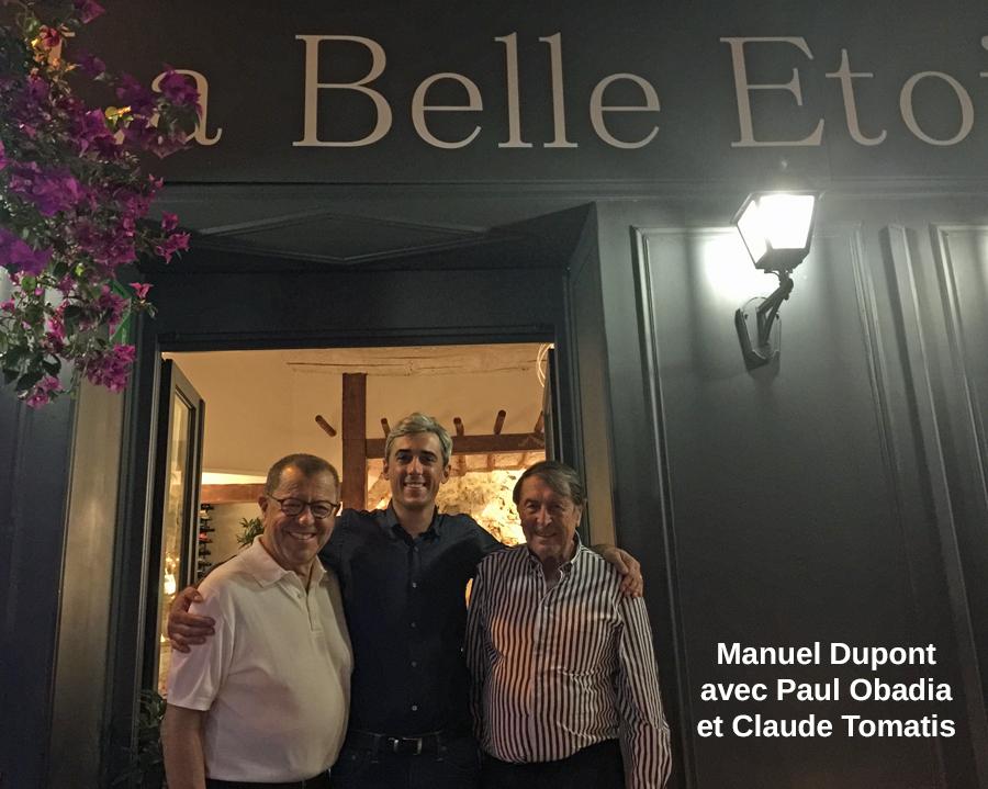 Manuel Dupont avec Paul Obadia et Claude Tomatis
