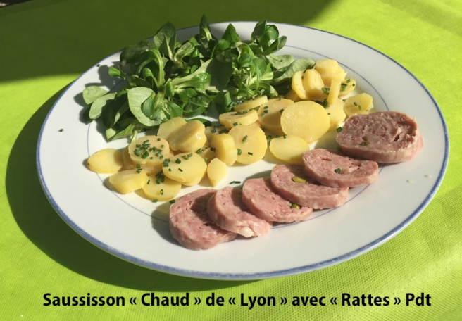 Saussisson chaud de Lyon