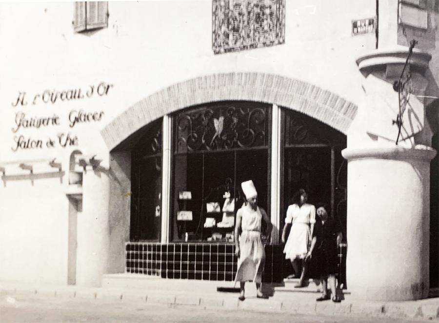 L'OISEAU D'OR Façade en 1946