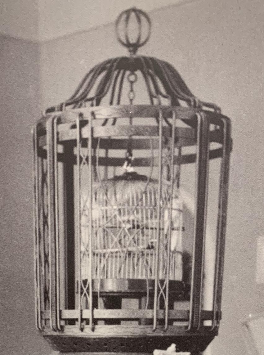 L'OISEAU D'OR - Cage aux oisseaux