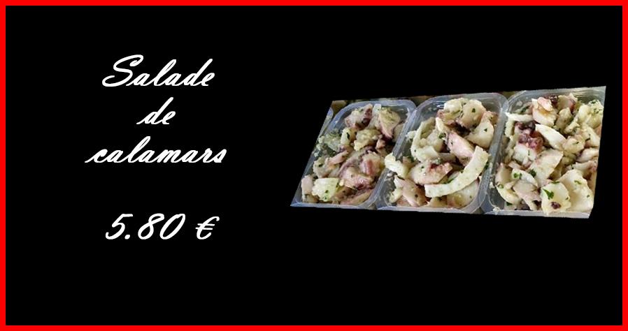 RECETA DE JOU Salade calamars