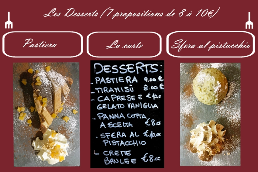 CASARELLA, desserts