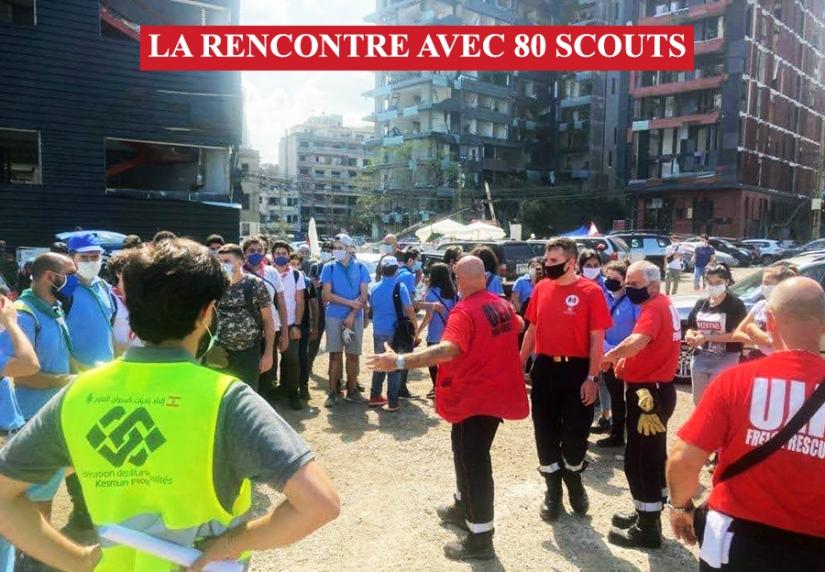 ULIS RENCONTRE 80 SCOUTS