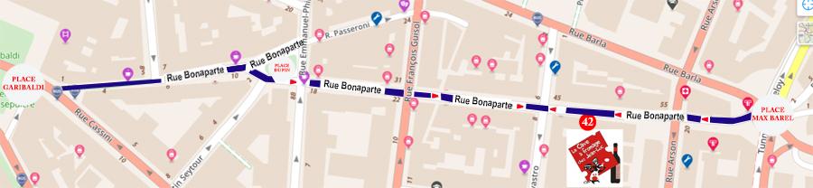 RUE BONAPARTE NICE LA CAVE A FROMAGE CHEZ JEAN-LUC PLAN