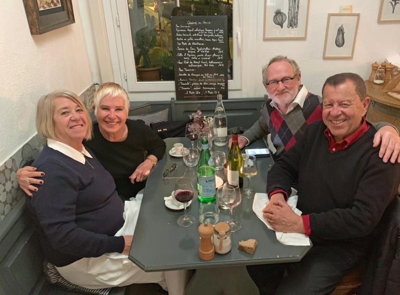 LE SECRET VAN RIJN In Nice, in 2019, ontdekking van restaurant Le Chabrol met Paul en Raydo Obadia