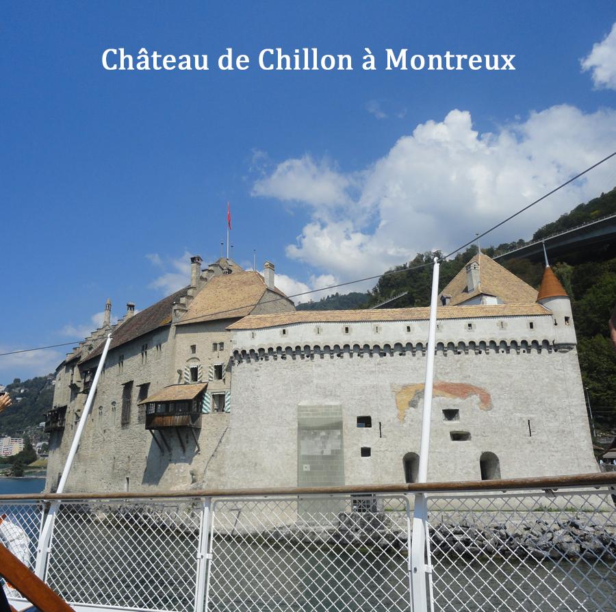 THONON  croisière sur le lac léman hateau Chillon