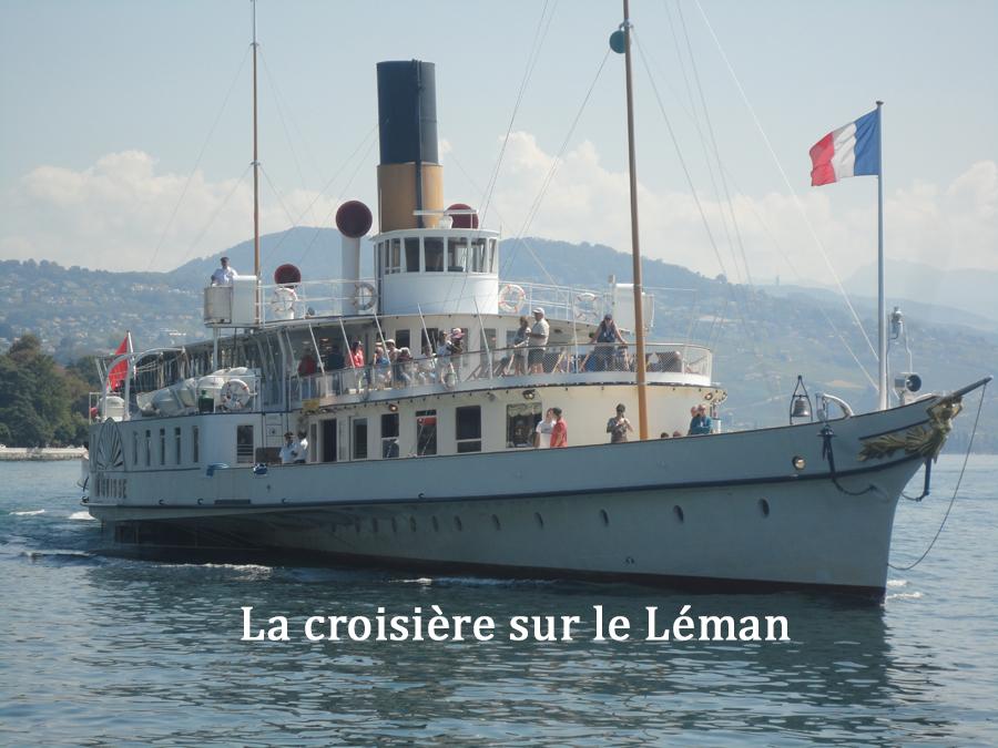 THONON  croisière sur le lac léman