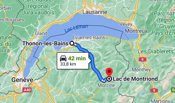 THONON  Lac de Montriond