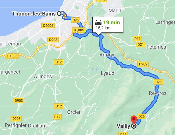 THONON Le Moulin de Léré Vailly