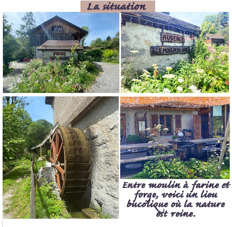 THONON Le Moulin de Léré Vailly situation